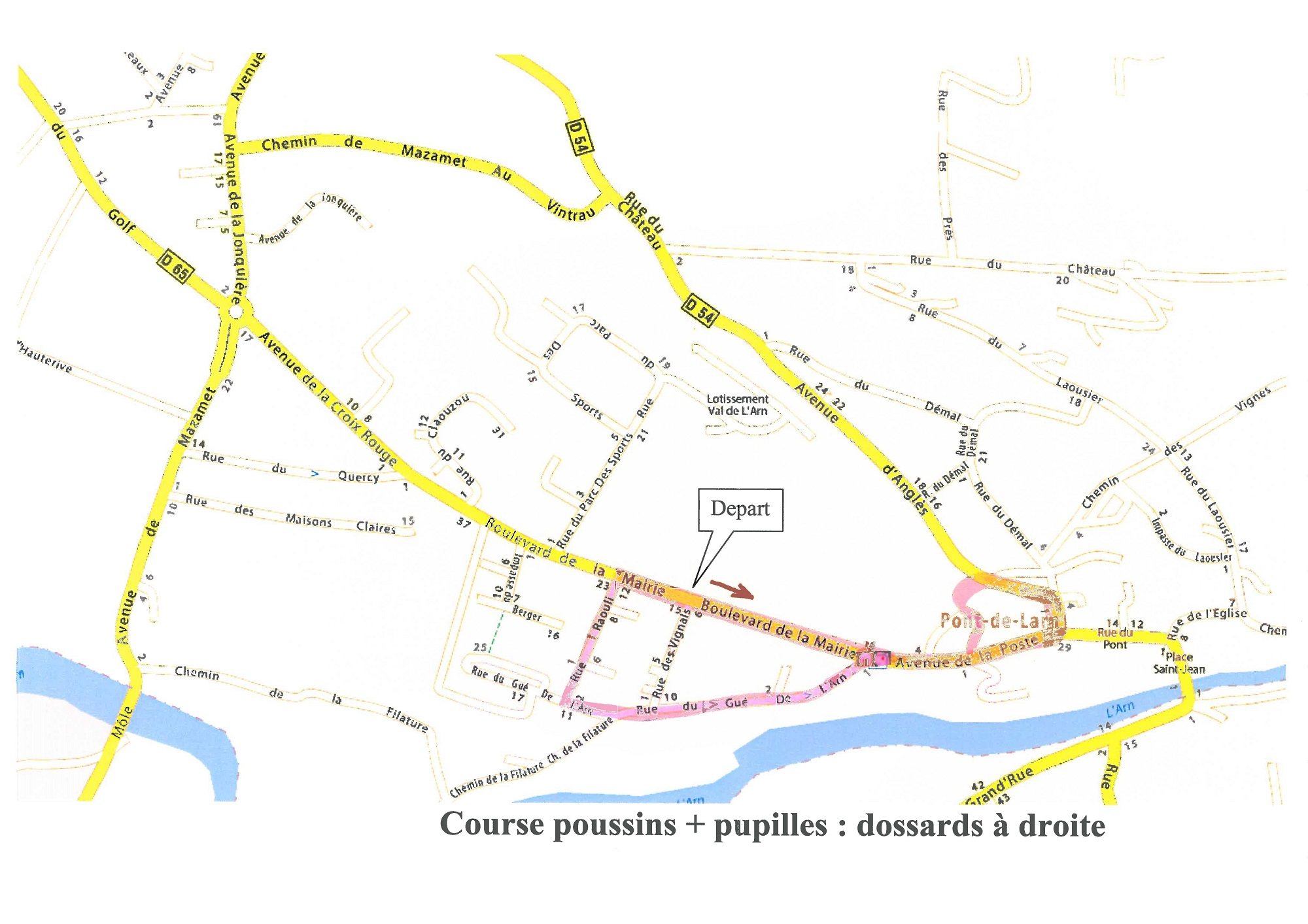 Course poussins-pupilles