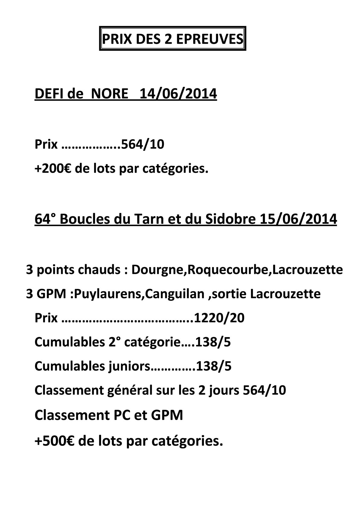 Dossier Boucle du TARN 2014 Page 8